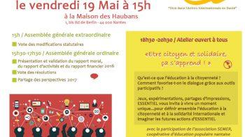 Permalien vers:Invitation Assemblée Générale d'ESSENTIEL 2017