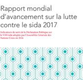 Rapport mondial d'avancement sur la lutte contre le sida 2017